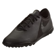 ed755fae8 Nike Phantom Vision Academy TF Artificial Turf Soccer Shoe Black Black-12.5