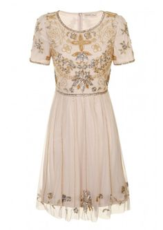 Diana Embellished Dress - Dresses - Clothing