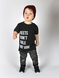 Beets Don't Kale My Vibe Infant and Toddler T-Shirt