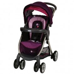 Minnie Mouse FastAction Fold Premiere Stroller from Graco. Fast set up is an understatement!