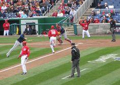 Washington Nationals Home Opener, 2011 Season vs. Atlanta Braves