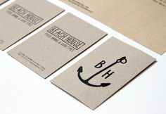 La Courtoisie Créative Beach House Restaurant Anglet Design graphic Logo et carte de visite
