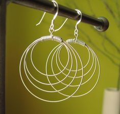 They are made out of guitar strings!! How cool is that?!?!?