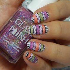 Hump Day Nail Art with Glam Polish