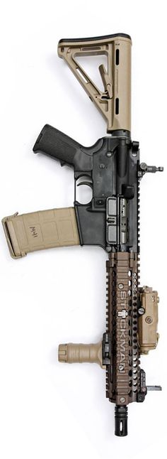 No matter how you mix it up, AR-15 always looks badass! By Stickman.