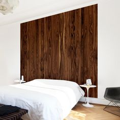Vliestapete Premium - Fototapete Holz Santos Palisander - Fototapete Quadrat #Holz #Tapete #Natur #Natürlichkeit #Wald #Baum