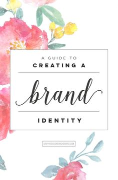 A guide to creating a brand identity: http://graphicdesigncrashcourse.com/how-to-design-a-brand-identity/  #brand #design #graphicdesign #logo