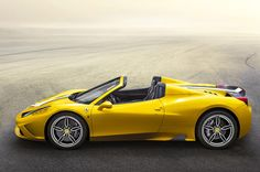 ferrari presents limited edition 458 speciale aperta - Yellow Car