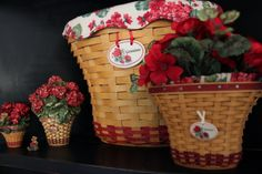 The Plaid Basket: Longaberger May Series with Harmony Kingdom and Boyds Bears, too!