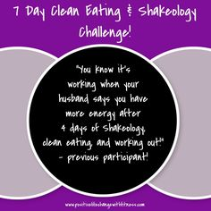 """""""my husband noticed I have more energy"""" When husbands notice you know its good! Click the photo for more information! #cleaneating #dailydoseofnutrition #workouts #athomeworkouts #accountability #support #motivation"""