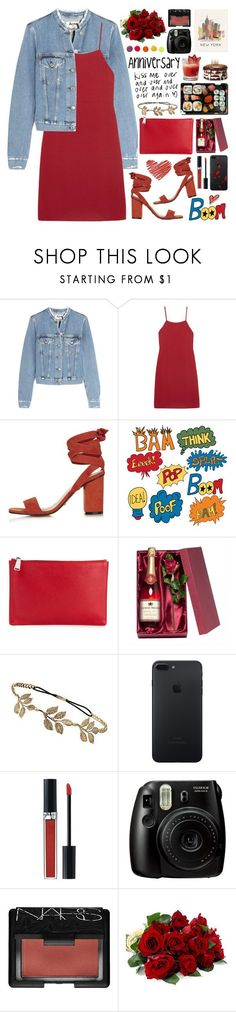 """2522. A gentleman is not a man who says nice things to women. A GENTLEMAN is a man who say nice things and his actions back those words up."" by chocolatepumma ❤ liked on Polyvore featuring Acne Studios, Reformation, Topshop, Jil Sander, Jura, Miss Selfridge, Christian Dior, RIFLE, Fujifilm and NARS Cosmetics"