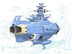 Sci Fi Anime, Starship Concept, Star Blazers, Space Battles, Space Games, Retro Waves, Sci Fi Art, Battleship, Spacecraft