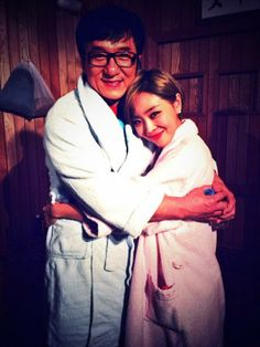 Jackie Chan reveals he came on 'Happy Together because of Yoo Jae Suk + spotted at the sauna set with Narsha Yoo Jae Suk, Intimate Photos, Ga In, Brown Eyed Girls, Siwon, Happy Together, Jackie Chan, Celebs, Celebrities
