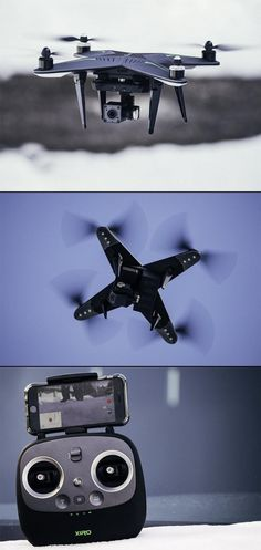 The Xiro Xplorer V is a compact drone that records very stable aerial video, but its lens shows significant barrel distortion.