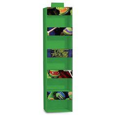 Teenage Mutant Ninja Turtles Hanging Storage Organizer, Green