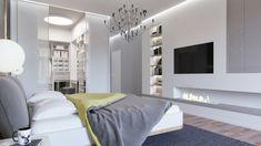 Graues Schlafzimmer, Weil Grau Schick Ist! #graues #schick #schlafzimmer