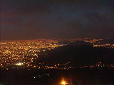 Luces de la ciudad Sn Jose Costa Rica