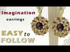 How to make jewelry earrings making at home - YouTube