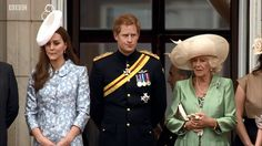 Prince Harry at the Trooping of the Colour 2015