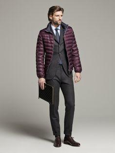 CH Carolina Herrera for Men Otoño Invierno 2013 #BoulevardJockey #Men #Fashion #Black #Formal #Suit #Jacket #Winter