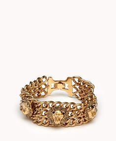 Wild Thing Lion Bracelet | FOREVER21 - 1072754803