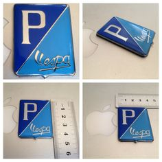 Badge Vespa P/ Brand New  #BADGEVESPA