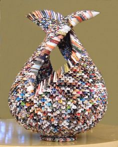 Papier in de herkansing: Paper art, Rancene Levison