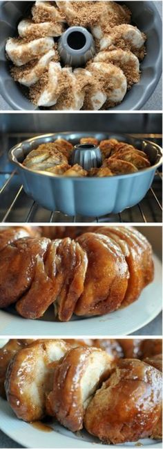 sticky bun breakfast ring using buttermilk biscuits. - great for brunch. Im going to cut biscuits in half and add cinnamon to sugar mixture Breakfast Ring, Breakfast Recipes, Breakfast Casserole, Sweet Breakfast, Brunch Recipes, Dessert Recipes, Brunch Ideas, Sunday Breakfast, Recipes With Biscuits Breakfast