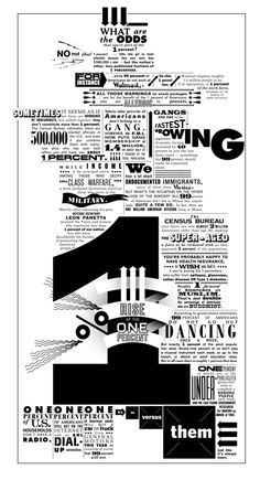 """THE NEW YORK TIMES: Op-Art """"Rise of the 1%"""" by MARTIN VENEZKY'S APPETITE ENGINEERS , via Behance"""