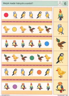 visuele discriminatie voor kleuters / preschool visual discrimination Printable Preschool Worksheets, Preschool Games, Montessori Activities, Preschool Learning, Worksheets For Kids, Book Activities, Educational Games For Kids, Autism Classroom, Literacy Skills