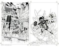 joe quesada art   Joe Quesada - Ash #1 (Wizard Ace Edition #8) Cover Comic Art