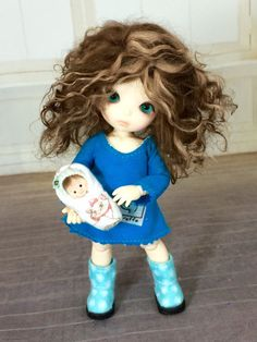 Handmade Custom Wig Made to Fit Fairyland by GirlsLoveCurlsWigs