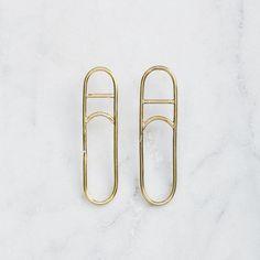 FIG 3. EARRINGS Fig, Sterling Silver Earrings, Jewlery, Hoop Earrings, Brass, Candy, Collection, Jewerly, Schmuck