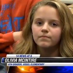 OLIVIA MCINTIRE  Olivia is a Vogel Elementary 6th Grade Student, and a The Mad Video user.