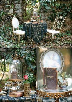 fairytale wedding inspiration via weddingomania