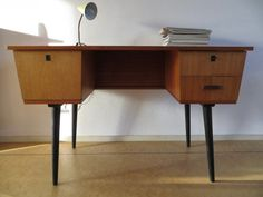 industrieel vintage school bureau bauhaus stijl vintage