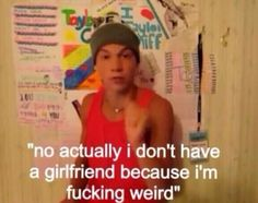 Oh @Sam McHardy McHardy McHardy McHardy Taylor Caniff your not weird you are swaggie