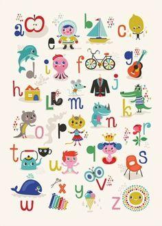 Helen Dardik ABC poster 50x70
