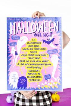 How To Throw A Halloween Girl's Night | Studio DIY