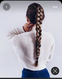 Cute hairstyles for school Cute Hairstyles For School, Trendy Hairstyles, Braided Hairstyles, Hairstyle Braid, Sponge Hairstyles, Summer Hairstyles, Cute Hairstyles With Braids, Rihanna Hairstyles, Female Hairstyles