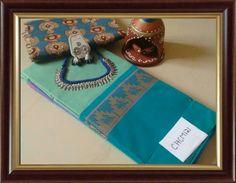 Chettinad cotton saree with extra kalamkari blouse and fashion jewellery Fashion Jewellery, Cotton Saree, Weave, Indian, Blouse, Jewelry, Bijoux, Hair Lengthening, Blouses