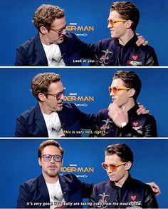 ist Tony Stark im wirklichen Leben Fukin Proof] Robert Downey Jr. is Tony Stark in real life Fukin Proof] – the Avengers Humor, Funny Marvel Memes, Dc Memes, Marvel Jokes, Memes Humor, Robert Downey Jr., Marvel Comics, Marvel Avengers, Tom Holland Peter Parker