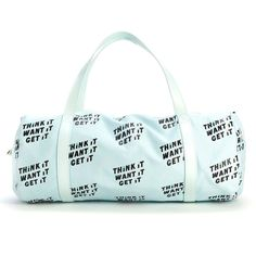 work it out gym bag - think it want it get it #adroll #all-products…