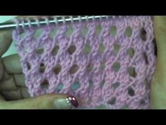 YouTube Knitting Videos, Knitting Charts, Knitting Stitches, Knitting Patterns, Crochet Video, Knit Crochet, Diy Flowers, Lana, Free Pattern
