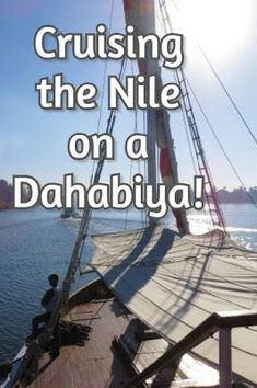 Cruising the Nile River on a dahabiya is the ultimate in slow travel and very different from large passenger boats. Read this for everything you need to know about a dahabiya Nile Cruise. Travel Money, Slow Travel, Cruise Travel, Travel Hacks, Travel Packing, Travel Advice, Travel Tips, Cruise Outfits, Cruise Wear