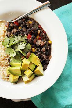 cuban black bean stew by Stacy Spensley, via Flickr