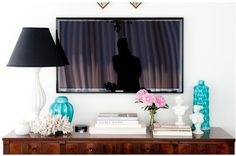 Pawleys Island Posh: decorating with a tv
