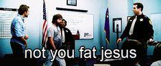 hahaha fat jesus.... #thehangover