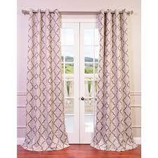 Half Price Drapes BOCH-KC38-96-GR Seville Tan 96 x 50-Inch Grommet Blackout Curtain Single Panel