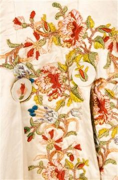 Coat (image 5) | Spain | 1785-1800 | silk, linen | Textilteca CDMT | Museum #: 11621